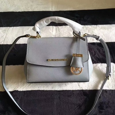MICHAEL Michael Kors Ava Extra-Small Saffiano Leather Crossbody Light Blue